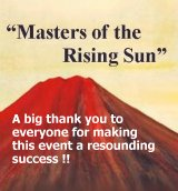 EVENT - Masters of the Rising Sun, October 6, 2007